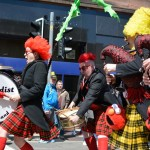 Absurdist Pipe Band at The West End Festival in Glasgow 2015